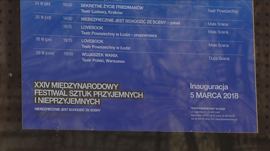 Xxiv Festiwal Sztuk Przyjemnych I Nieprzyjemnych Od 5 Marca Tvp3
