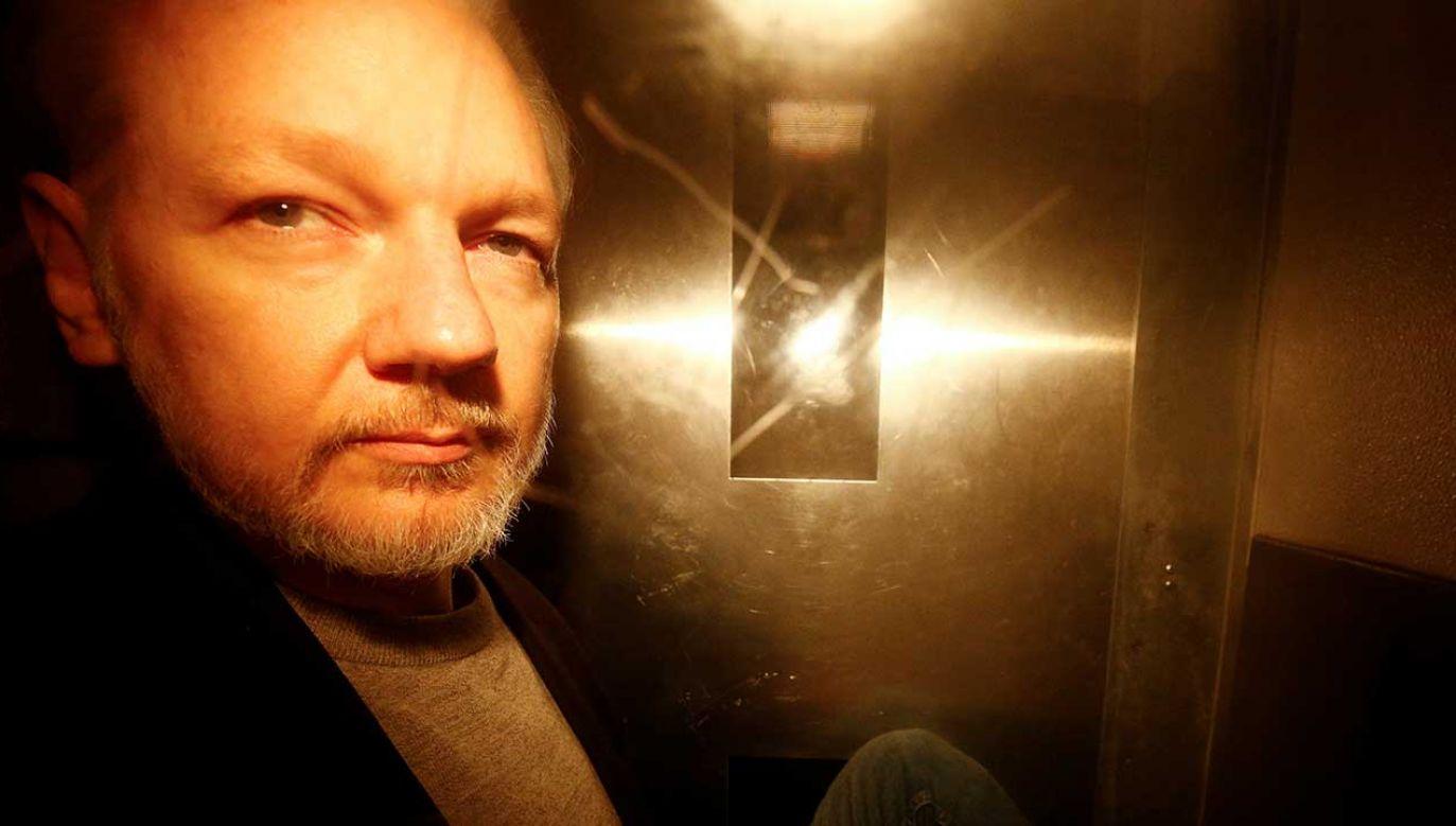 Ostateczna decyzja w sprawie twórcy WikiLeaks należy do sądu (fot.  REUTERS/Henry Nicholls)