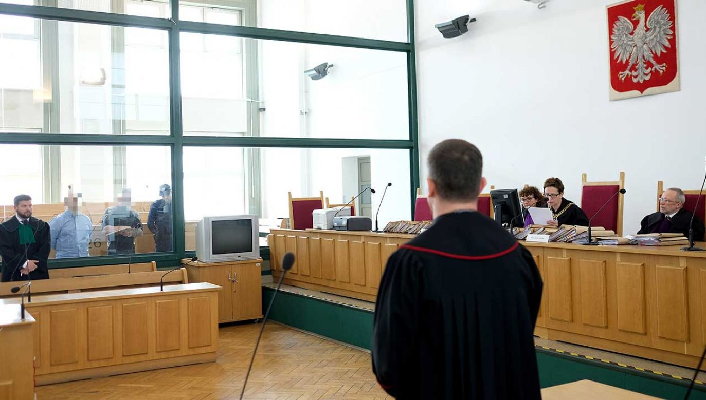 W Sądzie Apelacyjnym w Katowicach zapadł wyrok w procesie odwoławczym Janusza T. ps. Krakowiak i 9 innych osób, oskarżonych o przynależność do jego gangu (fot. PAP/Andrzej Grygiel)