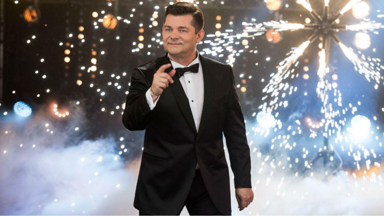 Niekwestionowany król disco polo, Zenon Martyniuk, rozgrzeje scenę do czerwoności! (fot. J.Bogacz/TVP)