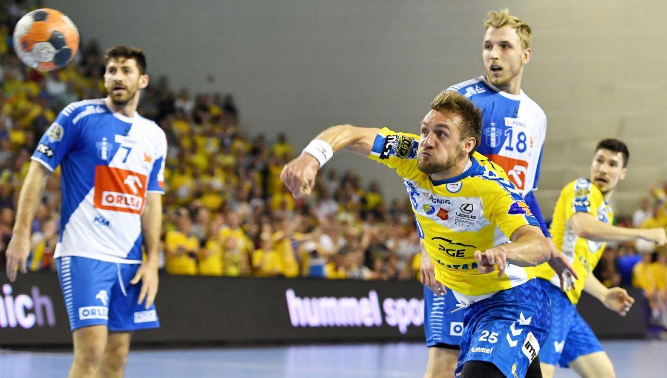 Luka Cindric (przód) i Mateusz Piechowski (tył)(fot. PAP)