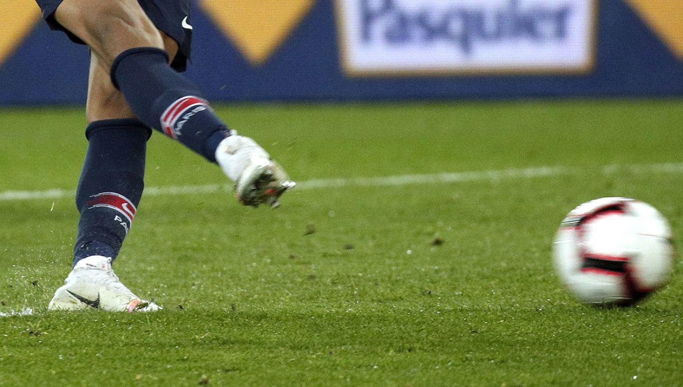 Rzuty karne zdecydowały o wygranej w meczu (fot. PAP/EPA/MANUEL BRUQUE)