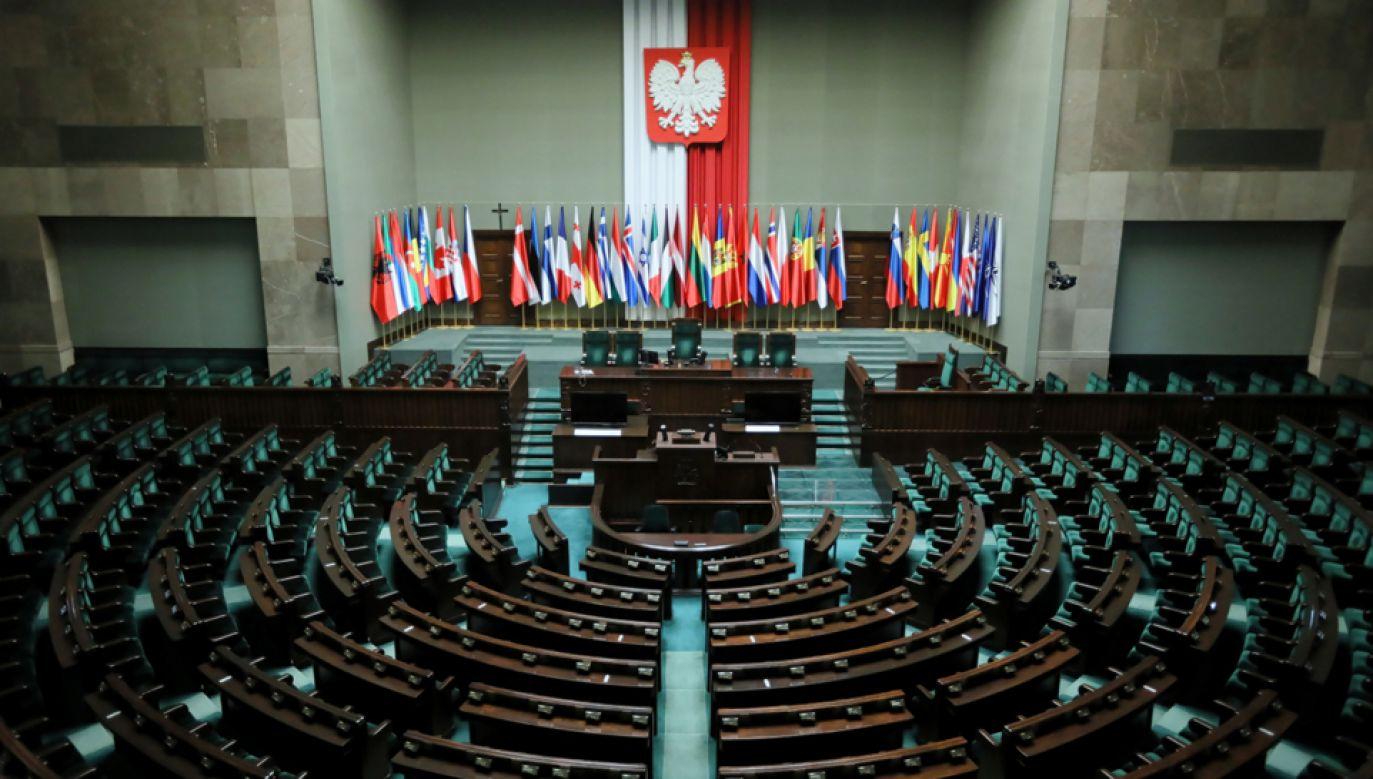 W Sejmie rozpoczynają się w piątek obrady Zgromadzenia Parlamentarnego (fot. PAP/Leszek Szymański)