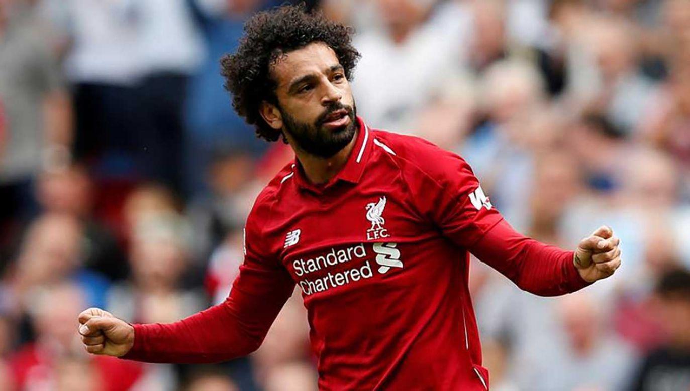 Liverpool zgłosił niewłaściwe zachowanie Salaha na policję (fot. REUTERS/Andrew Yates)