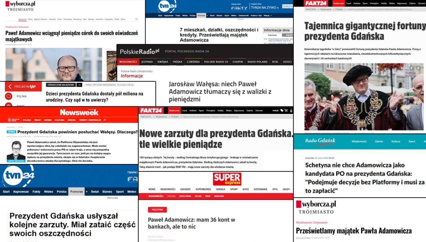 Wdowa po prezydencie Gdańska uważa, że jej rodzina była zastraszana przez dziennikarzy (fot. portal tvp.info)