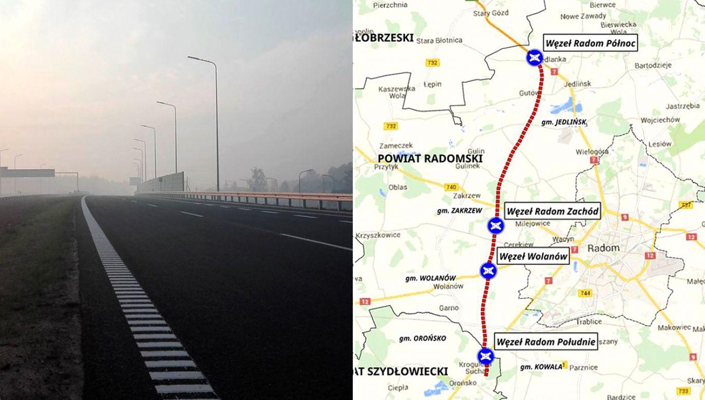 Prace przy budowie nowej drogi Radomia rozpoczęły się w sierpniu 2015 r. (fot. TT/Ministerstwo Infrastruktury)