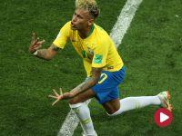 Skrót meczu Brazyli – Szwajcaria