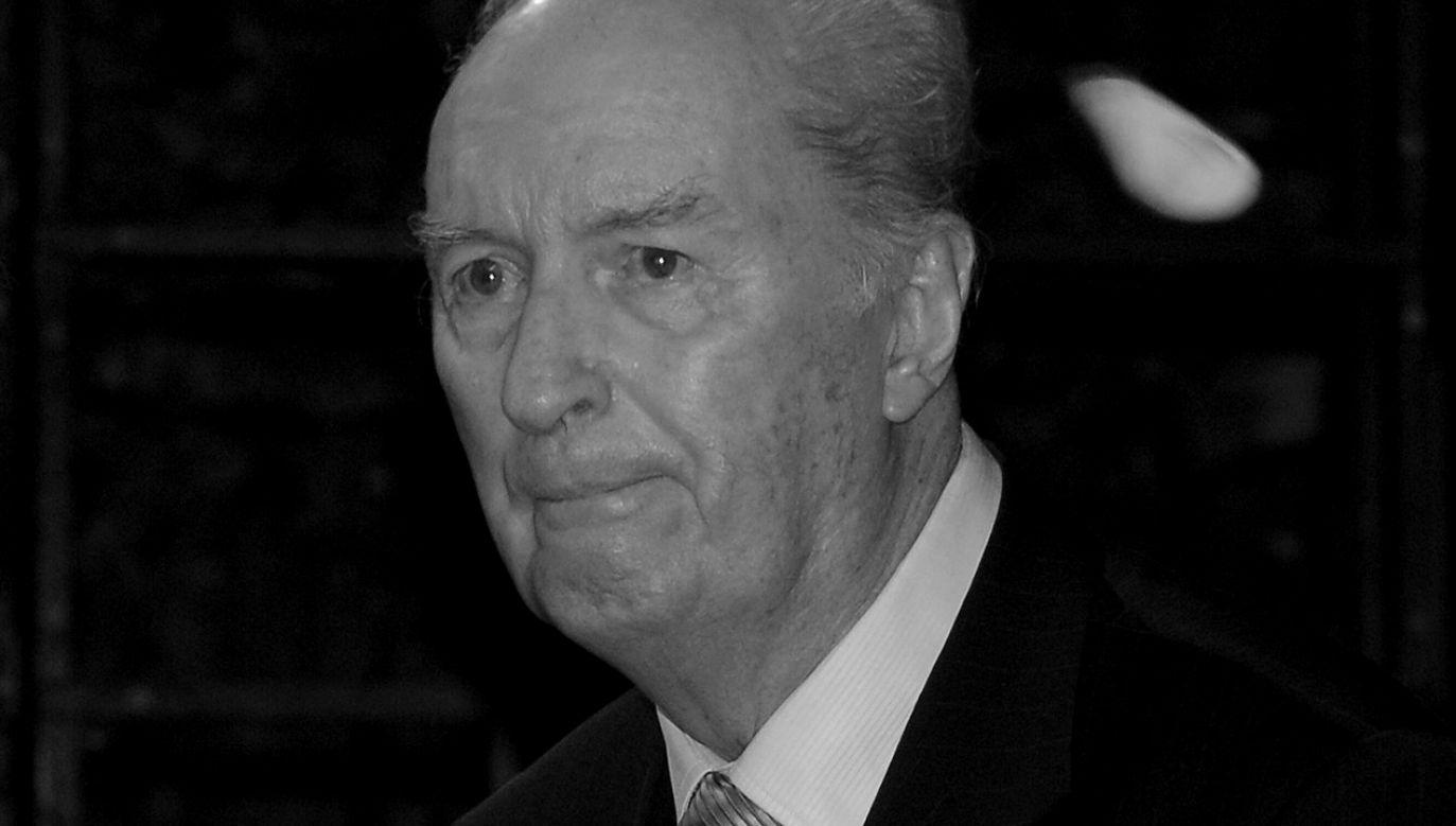 W 1996 r. Henryk Bieniewski został uhonorowany odznaką Zasłużony Działacz Kultury (fot. arch. PAP/Andrzej Rybczyński)