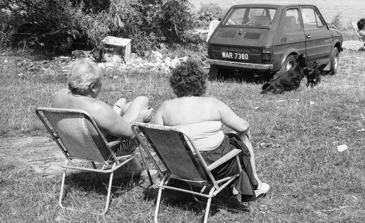 Zalew Zegrzyński pod Warszawą  w 1988 r. (fot. arch. PAP/Adam Urbanek)