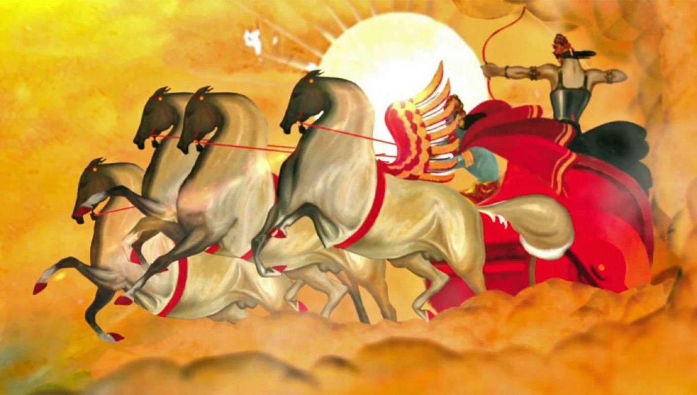 Film ilustruje sceny z hinduskiego eposu Ramajana (fot. YT/Instytut Polonika)