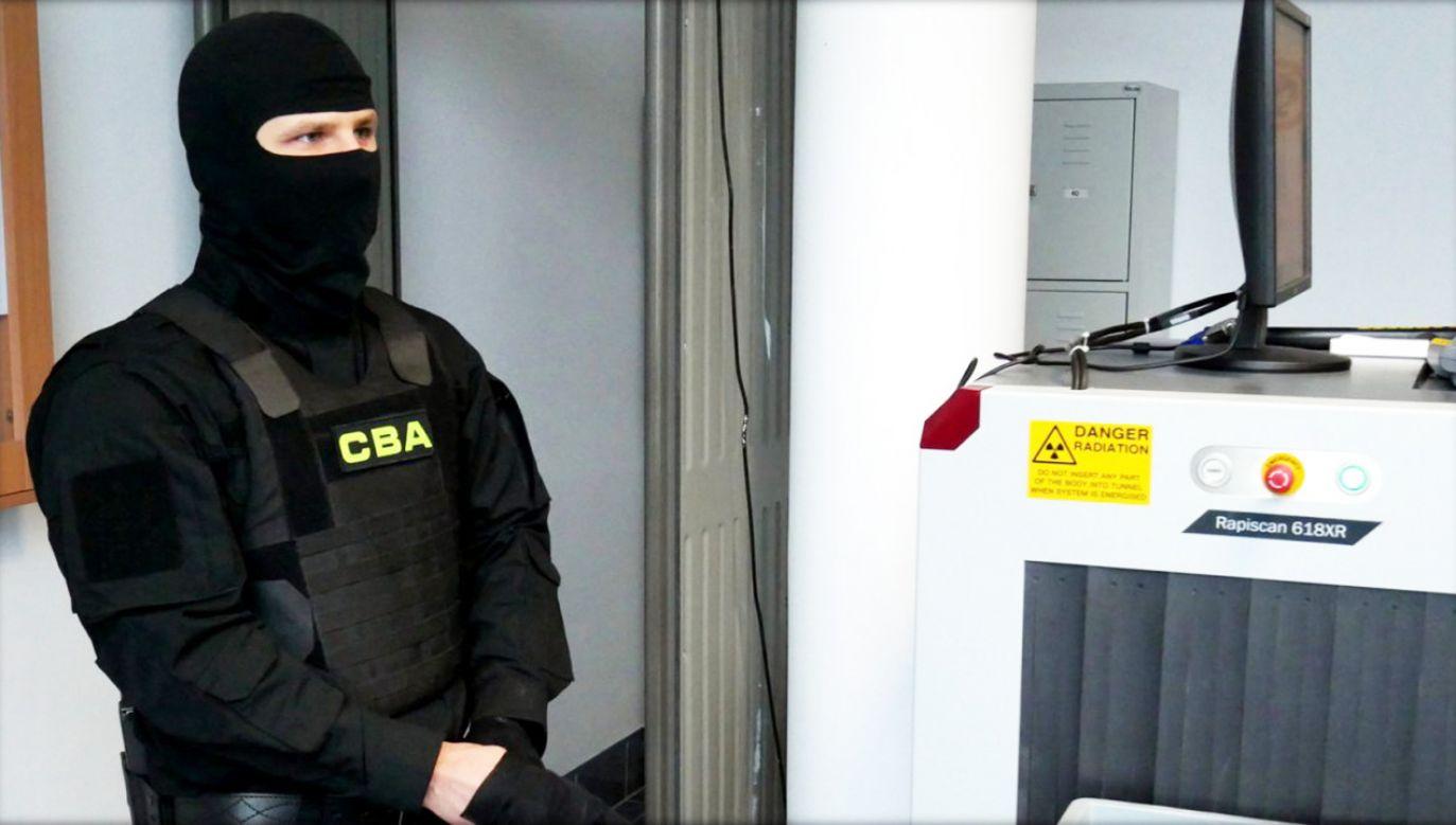 Kolejny wątek śledztwa CBA z burmistrzem Pułtuska w tle (fot. CBA.GOV.PL)