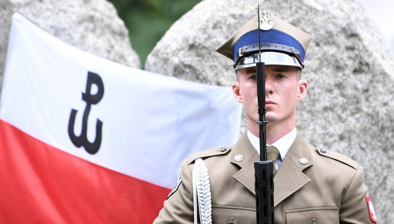 Z badań wynika, że polscy żołnierze są gotowi ponosić wyrzeczenia dla służby. Deklarują, że jest ona przejawem patriotyzmu (fot. arch. PAP/Bartłomiej Zborowski)