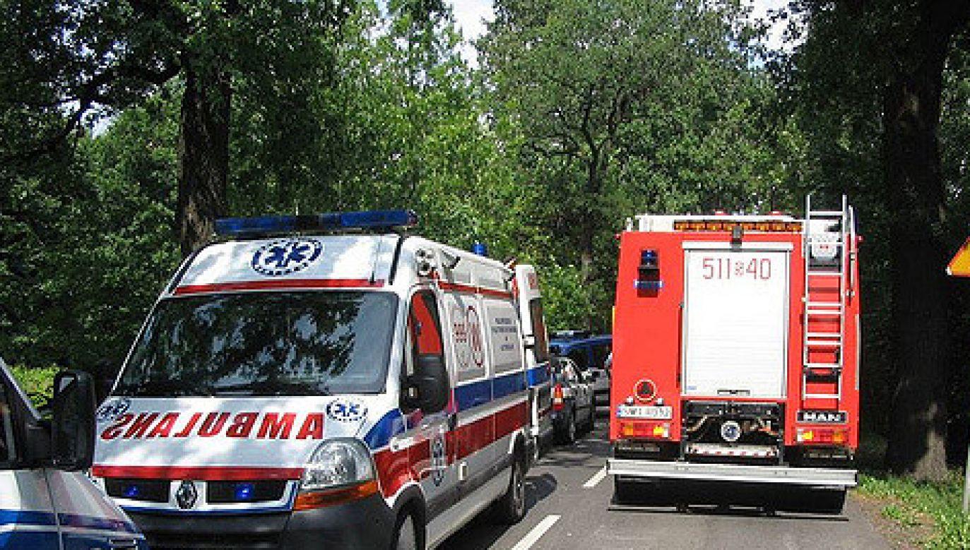 Na miejsce wypadku zostały skierowane trzy zastępy straży pożarnej (Zdjęcie ilustracyjne/flickr.com/brandthedwarf)