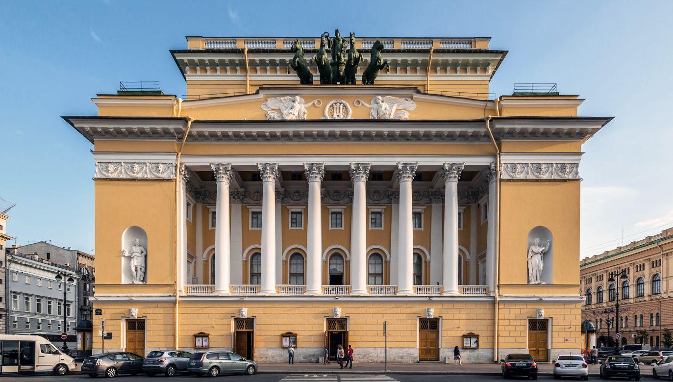 The Alexandrinsky Theatre in Petersburg. Photo: Wikimedia Commons/Alex 'Florstein' Fedorov