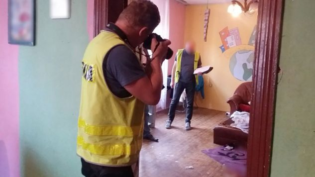 Do tragedii doszło w jednym z mieszkań w centrum Zabrza (fot. Śląska policja)