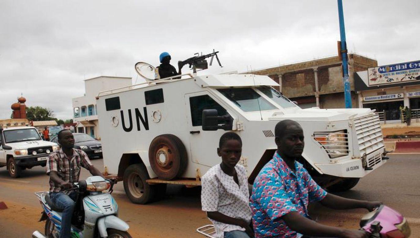 Wszyscy żołnierze ONZ, którzy zginęli i zostali ranni, pochodzili z Czadu (fot. REUTERS/Luc Gnago)