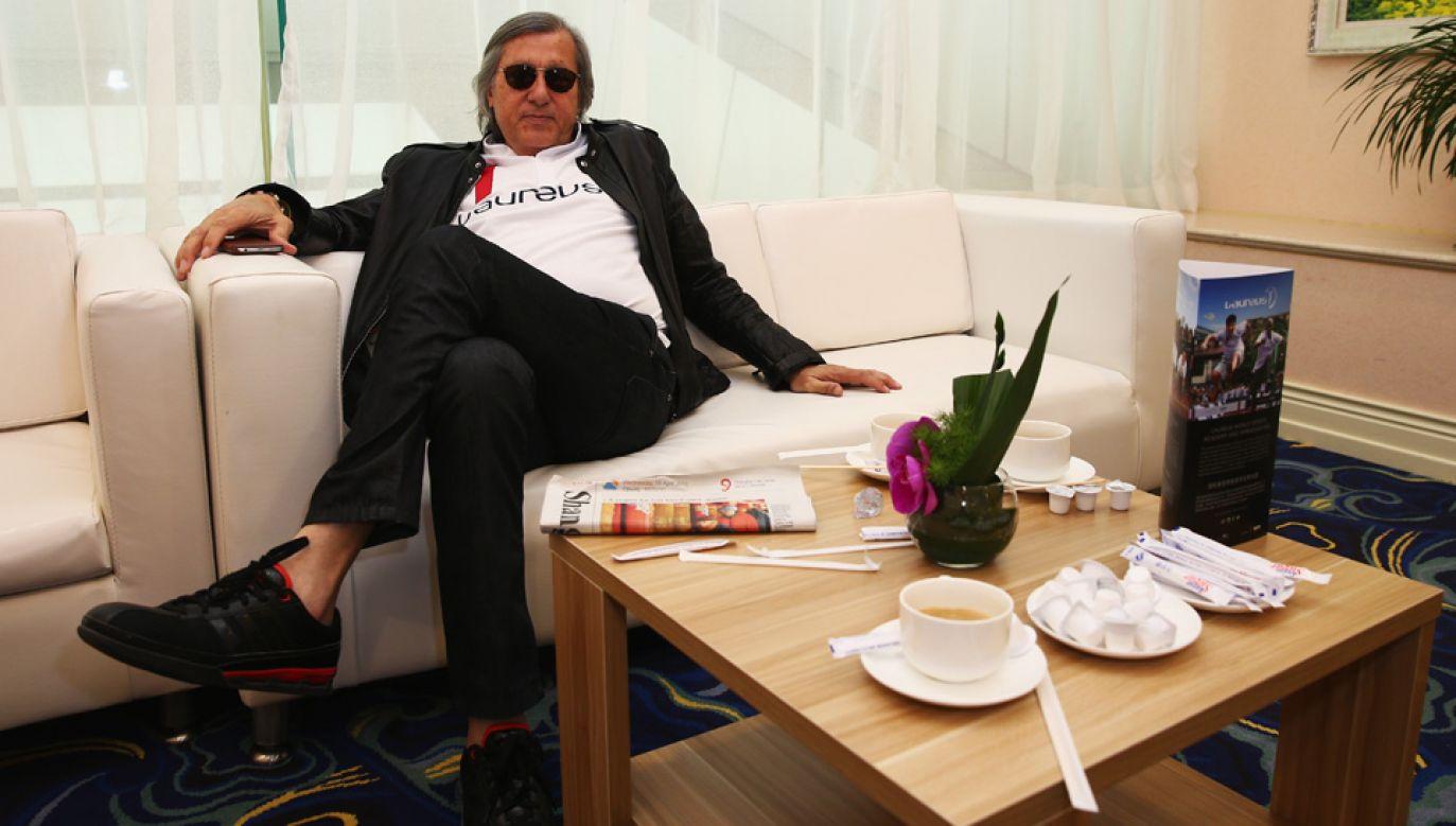 Ilie Nastase największą karierę robił w latach 70. (fot. Ian Walton/Getty Images for Laureus)