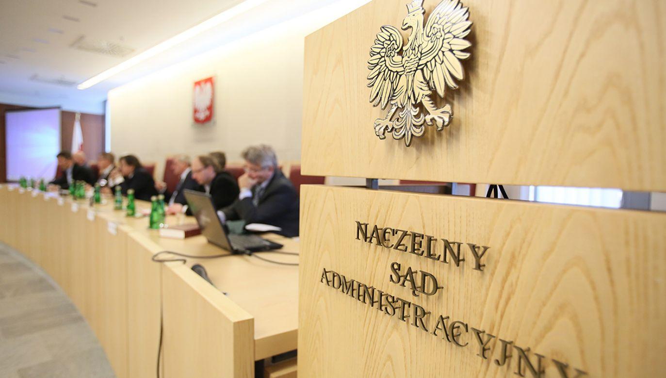 33 sędziów NSA, w tym prezes Marek Zirk-Sadowski, złożyło oświadczenia o woli dalszego zajmowania stanowiska (fot. arch. PAP/Leszek Szymański)