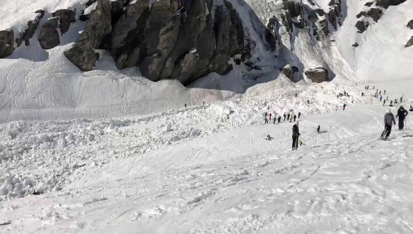 Na Twitterze pojawiły się zdjęcia trasy pod zwałami śniegu (fot. TT?BOC Intel)