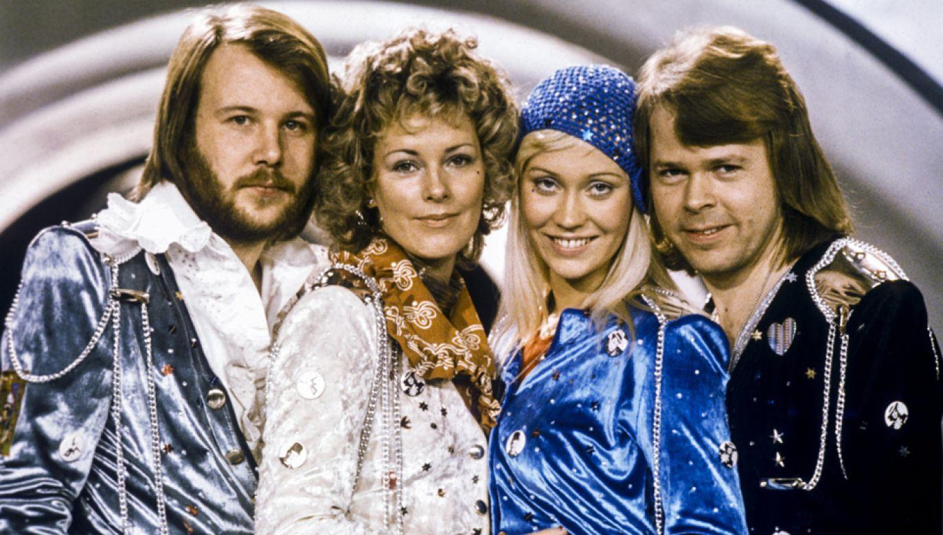 Po 35 latach zespół ABBA nagrał nowe utwory (fot. z 1974 r. PAP/EPA/NORA LOREK)