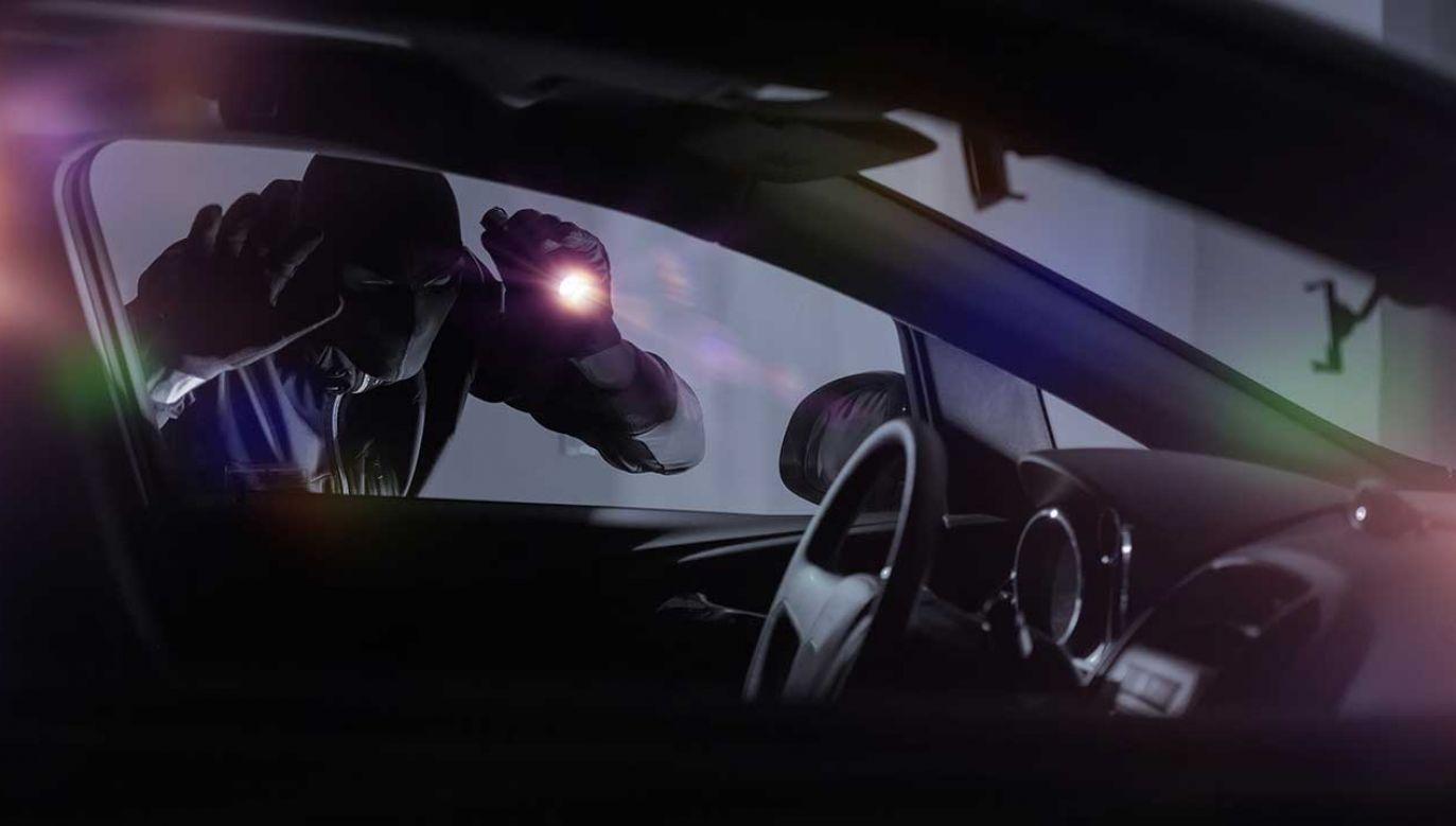 Mężczyzna kilkukrotnie kradł i próbował ukraść samochód (fot. Shutterstock/welcomia)