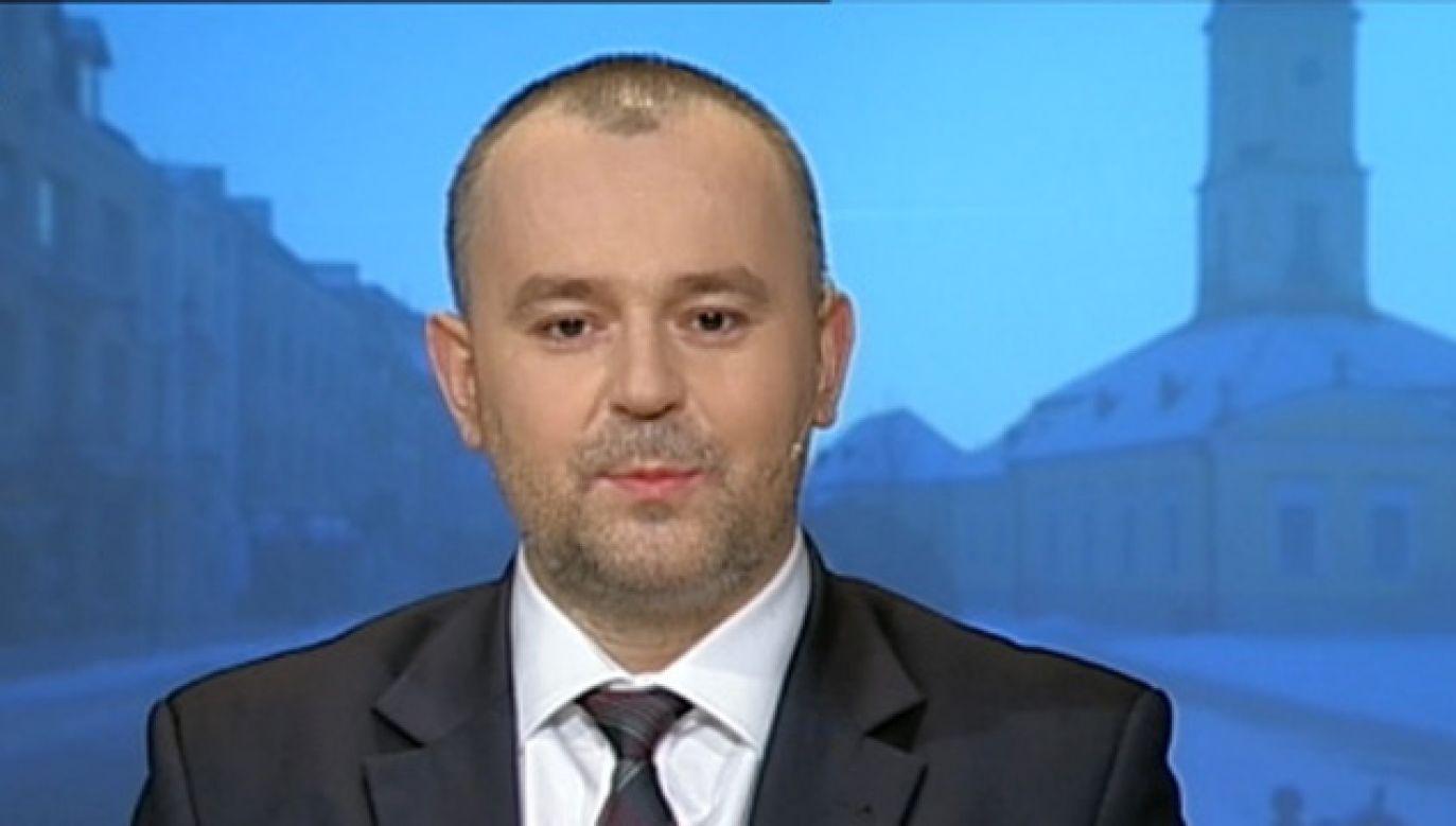 Paweł Mucha, zastępca szefa Kancelarii Prezydenta RP (fot. TVP Info)