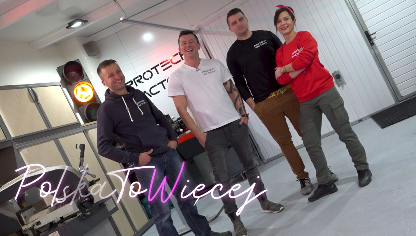 Zespół Protech Factory (fot. Portal TVP.info)