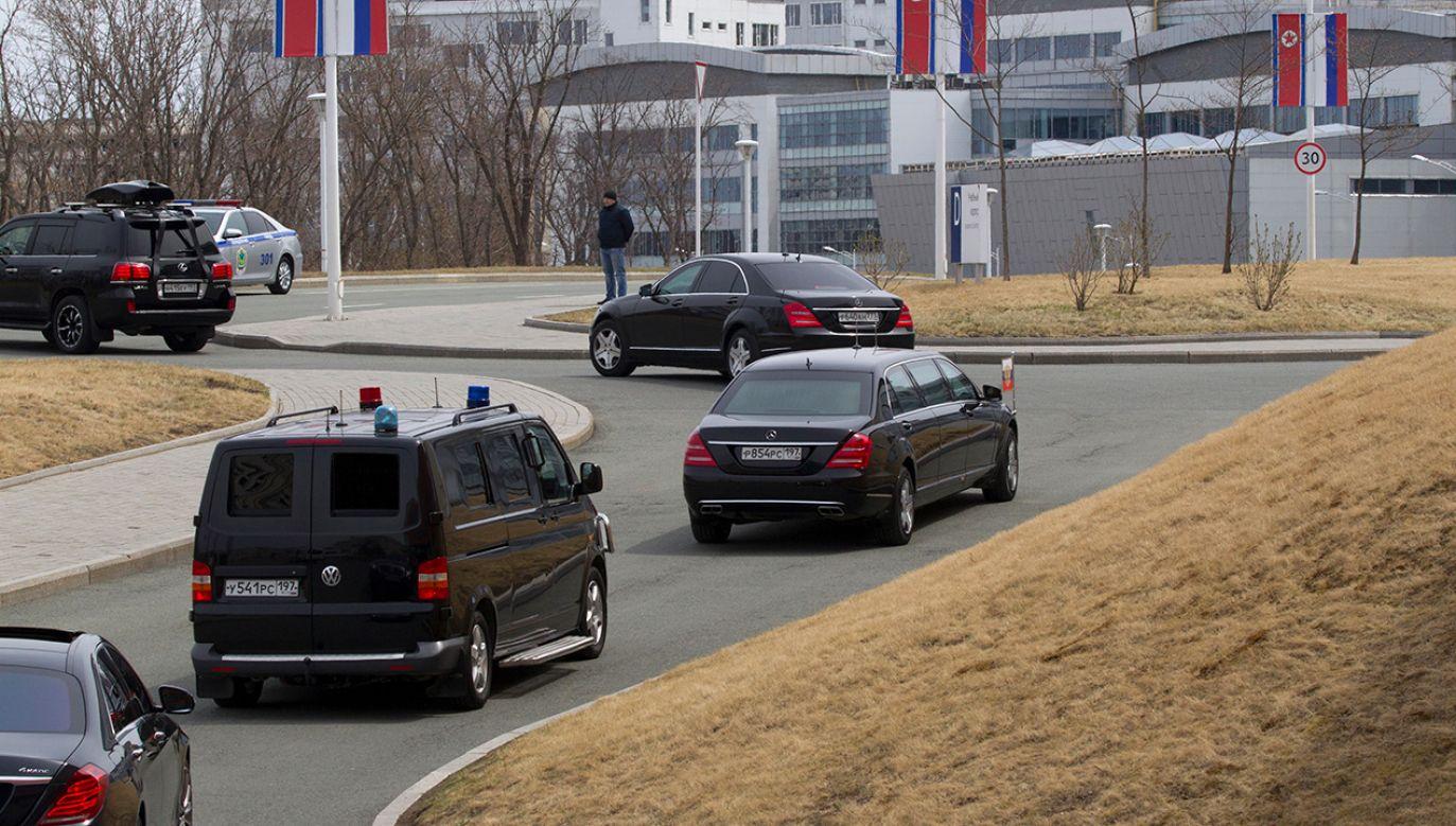 Daimler podkreśla, że nie robi z Pjongjangiem żadnych interesów (fot. Mikhail Svetlov/Getty Images)
