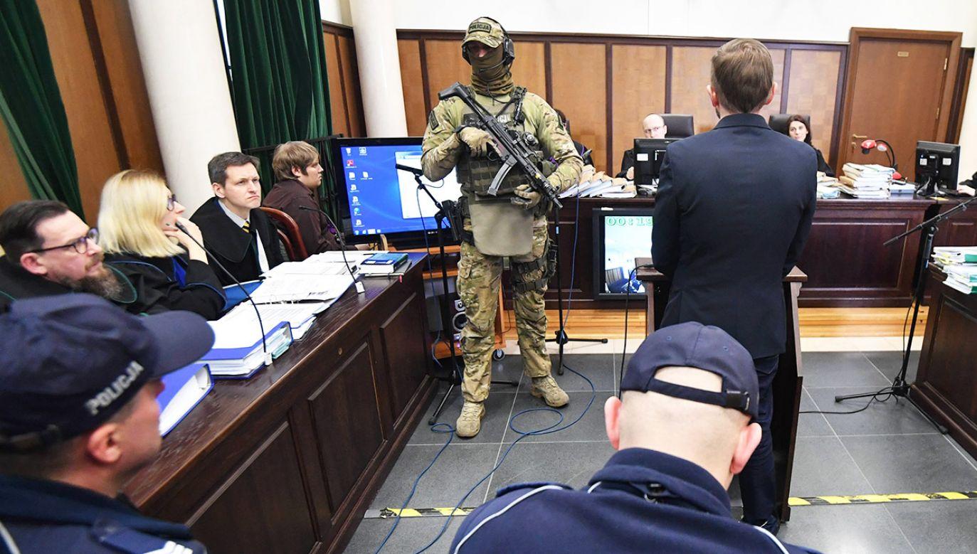Marcin P. przebywa w areszcie od sierpnia 2012 r. (fot. arch.PAP/Bartłomiej Zborowski)