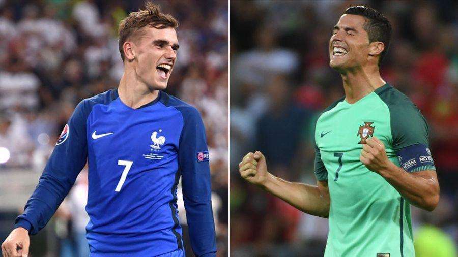 282246016 Mecz roku pod Paryżem. Francja, czy Portugalia mistrzem Europy ...