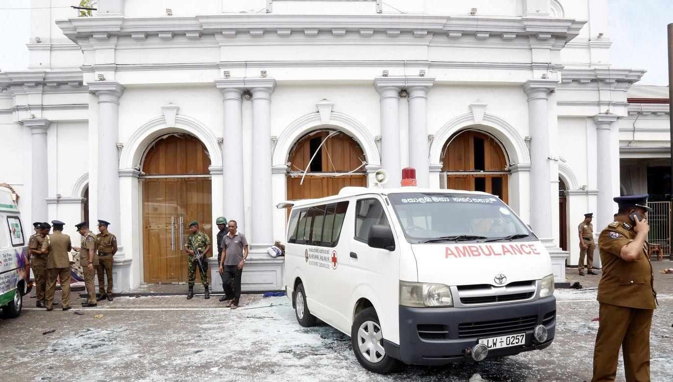 Polska zdecydowanie potępia ataki terrorystyczne dokonane na Sri Lance (fot. PAP/EPA/M.A. PUSHPA KUMARA)
