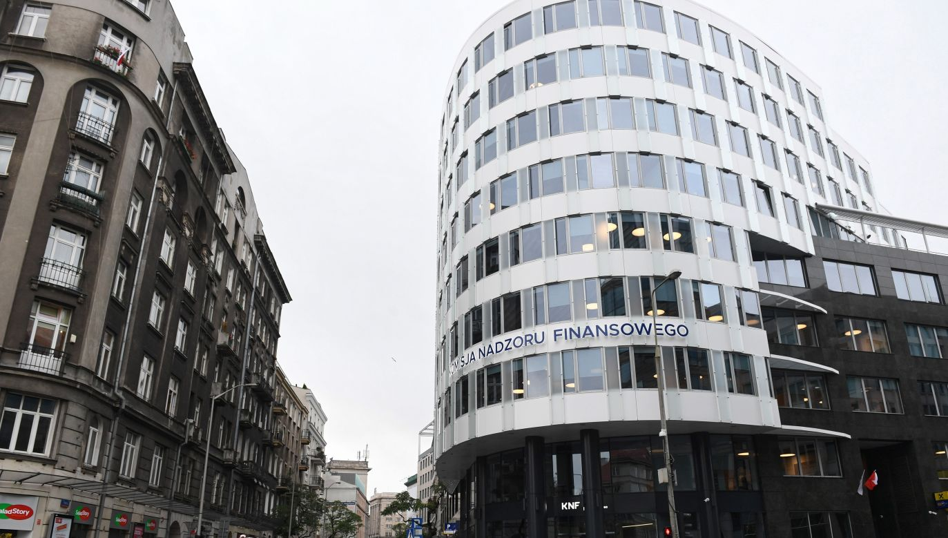 Financial Supervisory Authority (KNF) headquarters in Warsaw. Photo: PAP/Radek Pietruszka