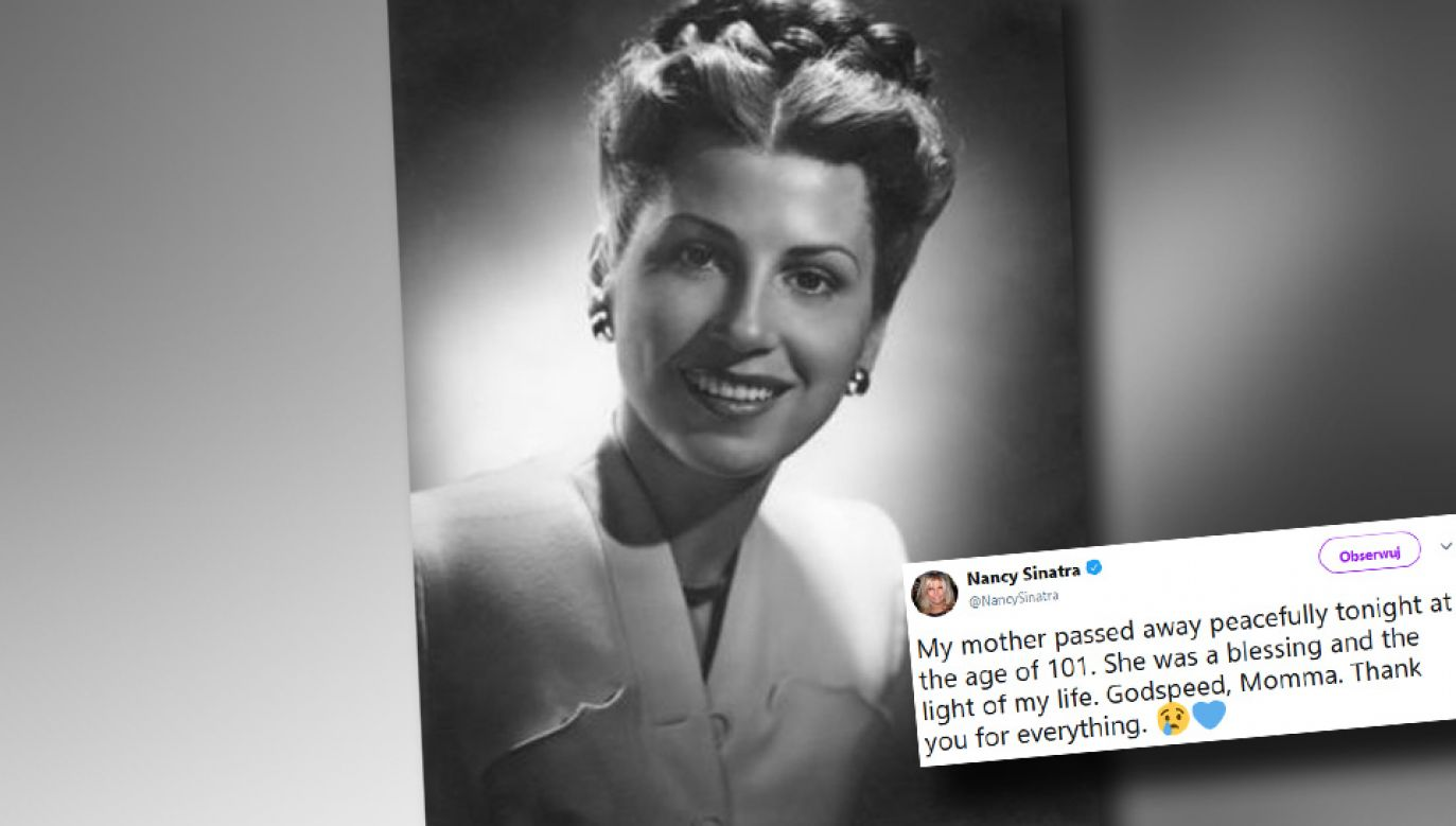 Nancy Sinatra miała 101 lat (fot. TT)