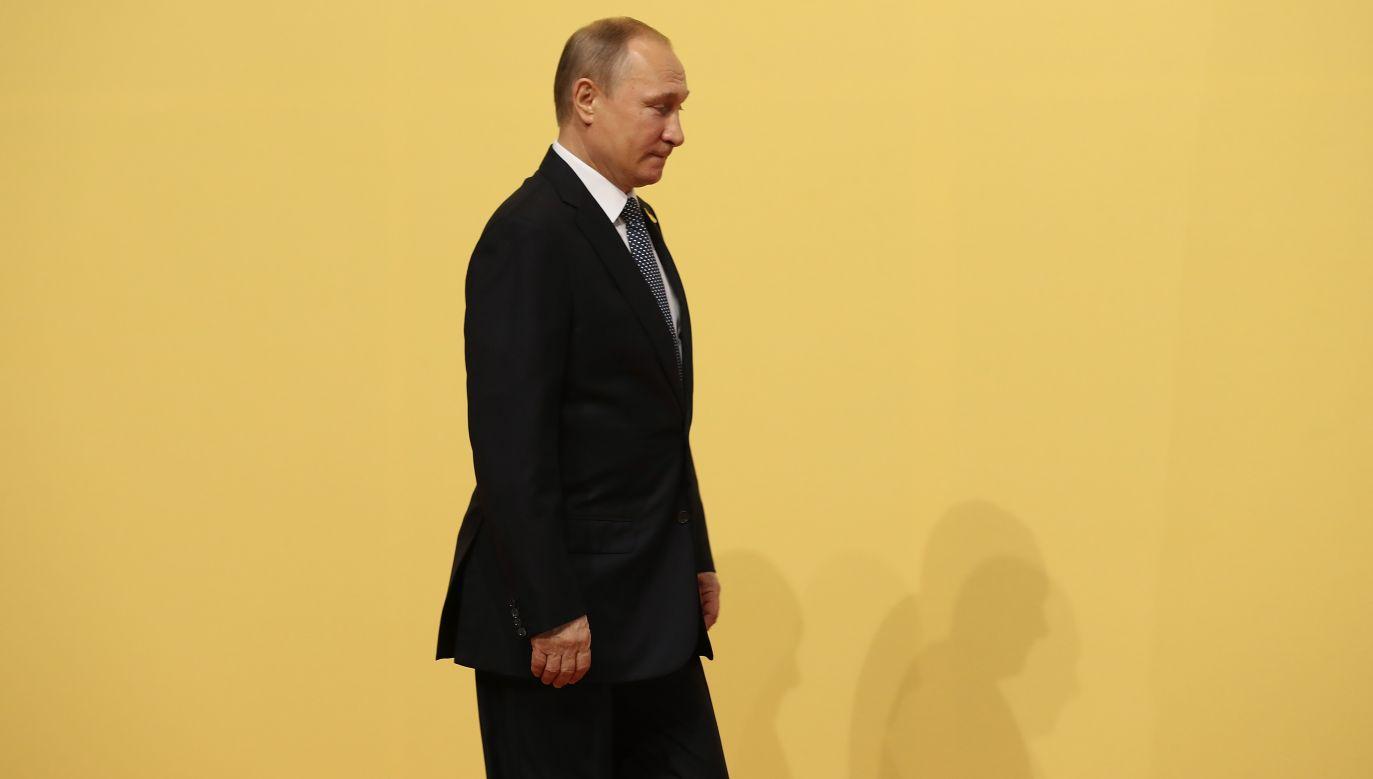 W ocenie propf. Zybertowicza atak na Siergieja Skripala jest dowodem słabości Władimira Putina (fot. Sean Gallup/Getty Images)