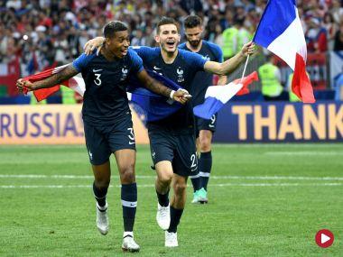 Mundial 2018, Skrót meczu Francja – Chorwacja