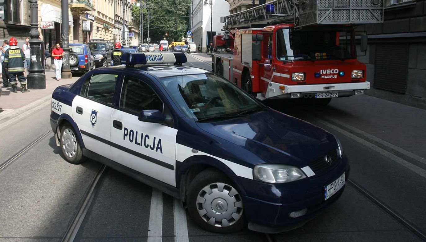 Policja wciąż szuka sprawców napadu w Krakowie (fot. arch.  PAP/Jacek Bednarczyk)