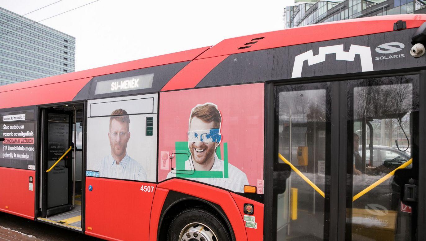 Bezpłatny autobus ma zachęcić do poznawania sztuki współczesnej (fot. Zarząd Miasta Wilna)