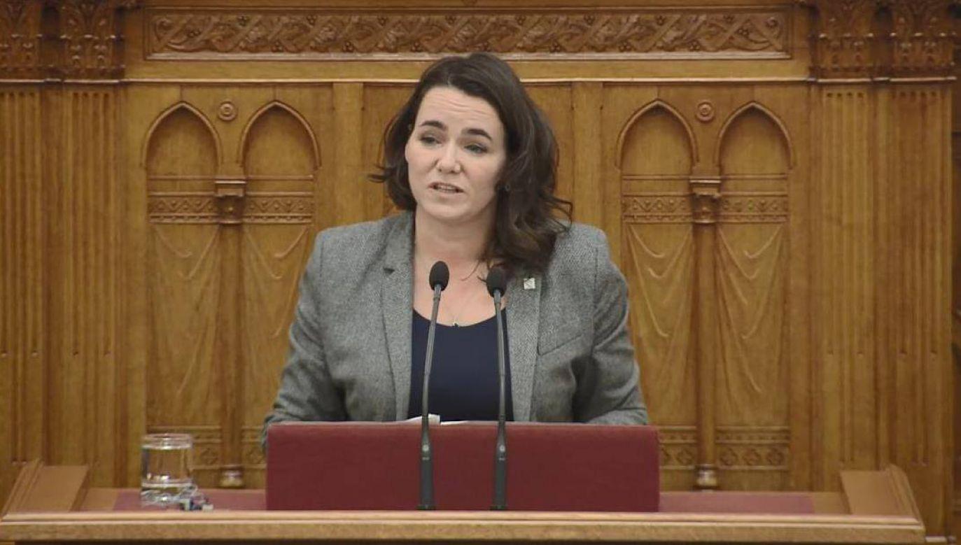 EPL ma przed sobą przyszłość tylko wówczas, jeśli pozostanie sojuszem centroprawicowym – mówi wiceszefowa Fideszu (fot. TT/KatalinNovakMP)
