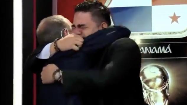 Niezwykłe momenty w panamskiej telewizji (fot. Twitter)