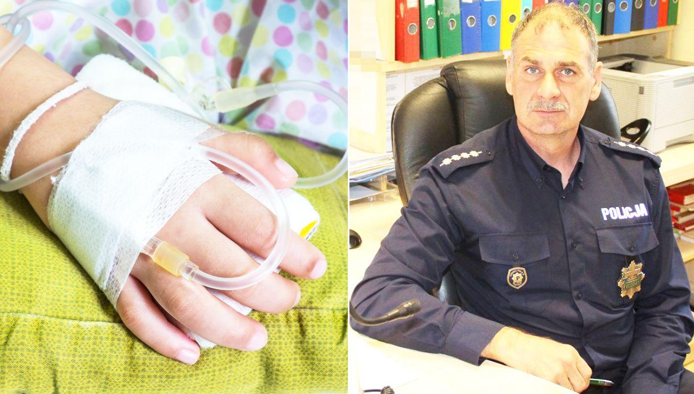 Asp. szt. Piotr Jankowski w słuzbie jest od 27 lat (fot. policja.pl/Shutterstock)
