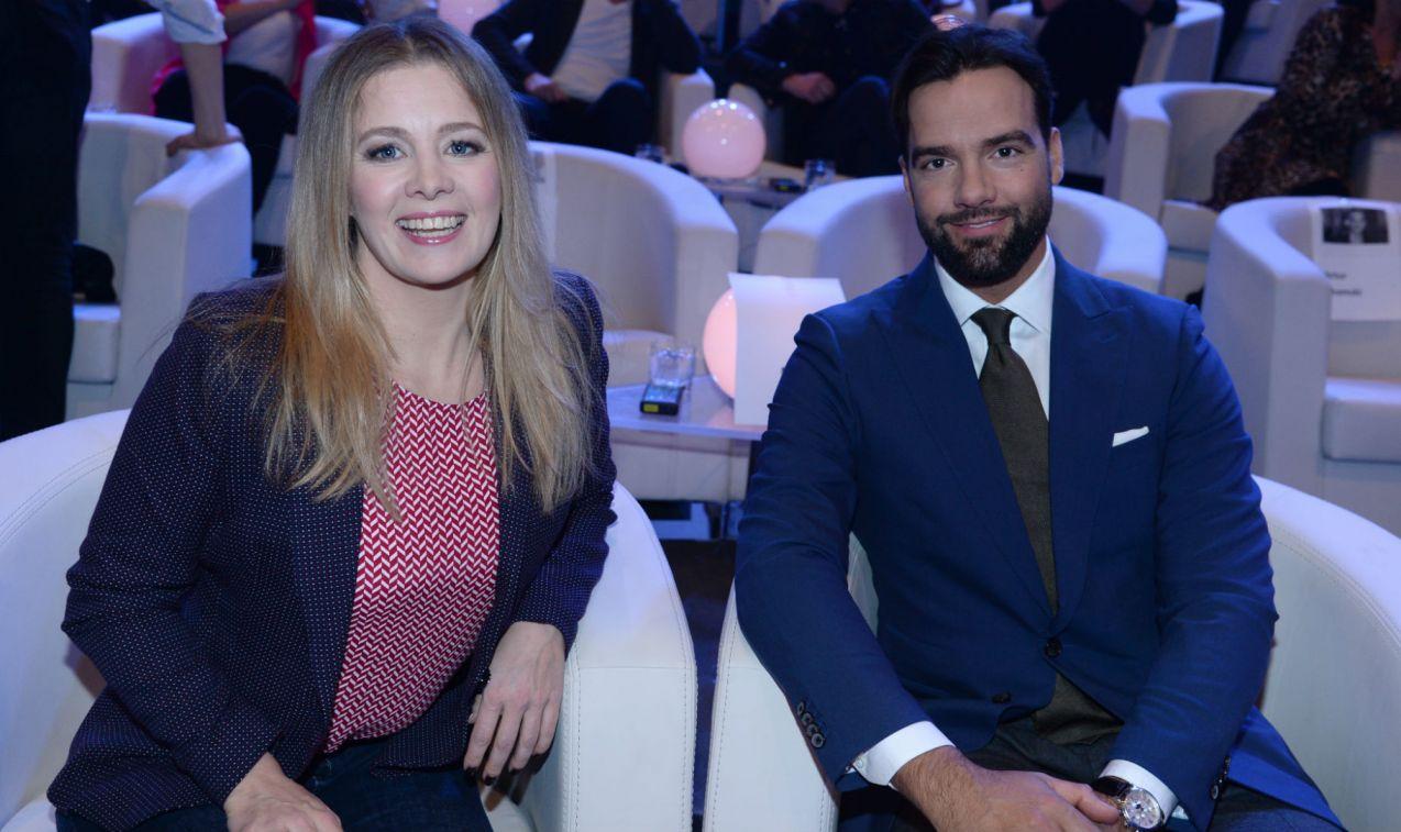 Międzynarodową parą jak przystało na europejskość byli Anna Powierza i Conrado Moreno (fot. TVP/J. Bogacz)