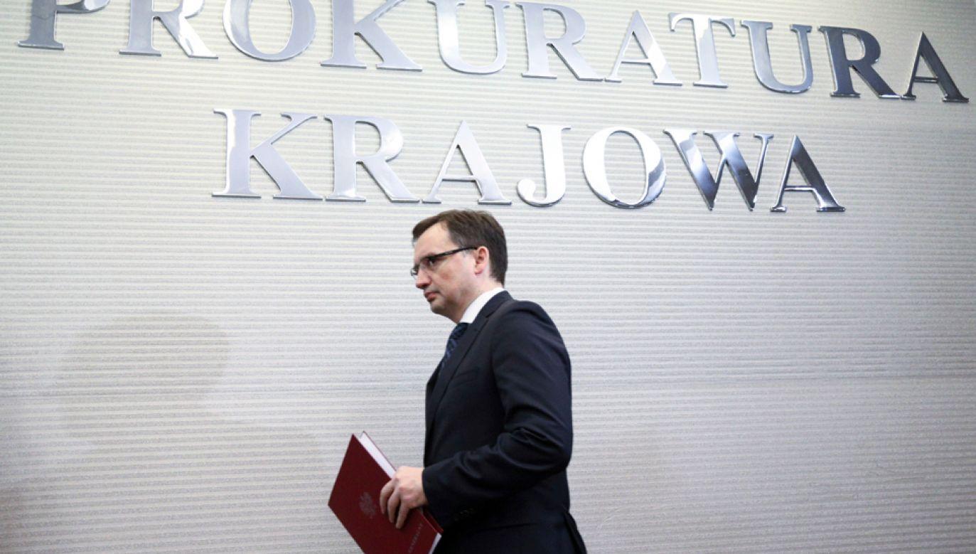 Zbigniew Ziobro ponownie szefem Solidarnej Polski (fot. PAP/Leszek Szymański)