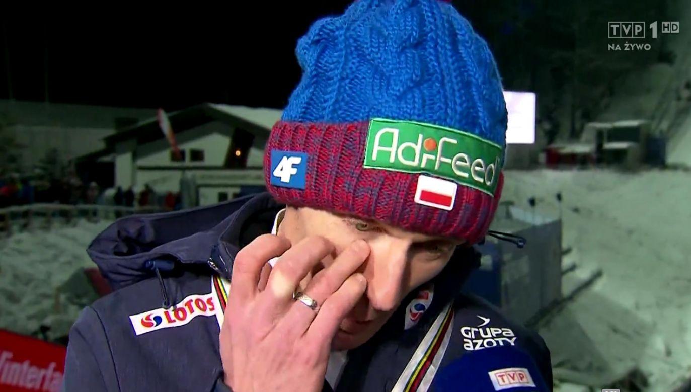 Stefan Hula w wywiadzie dla TVP (fot. TVP)