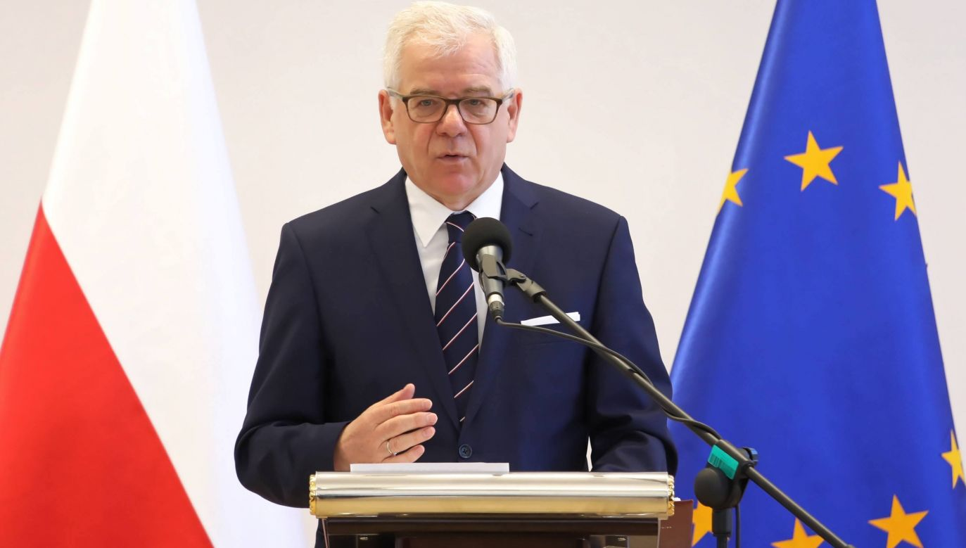 The Polish FM Jacek Czaputowicz said that Poland will obey any ruling by the ECJ. Photo: PAP/Tomasz Gzell