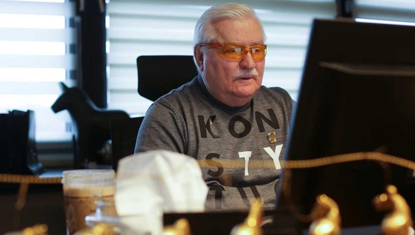 Były prezydent RP Lech Wałęsa (fot.  REUTERS/Matej Leskovsek)
