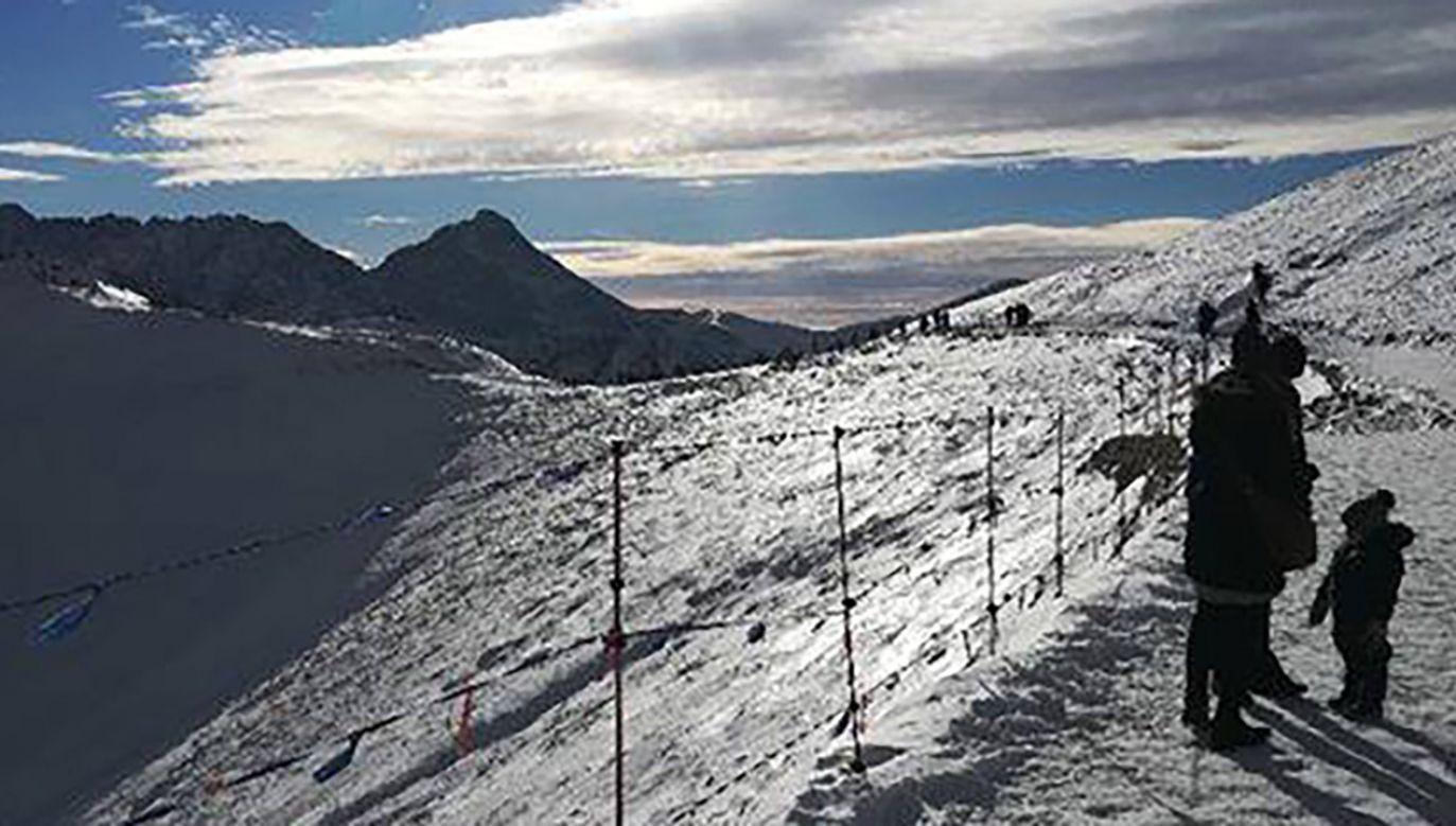 Wiele szlaków w wysokich partiach gór jest zamkniętych  (fot. Twoje INFO)