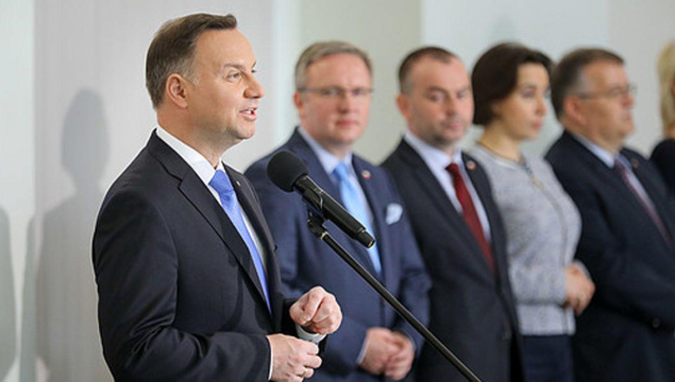 Prezydent Andrzej Duda (fot. KPRP/Jakub Szymczuk)