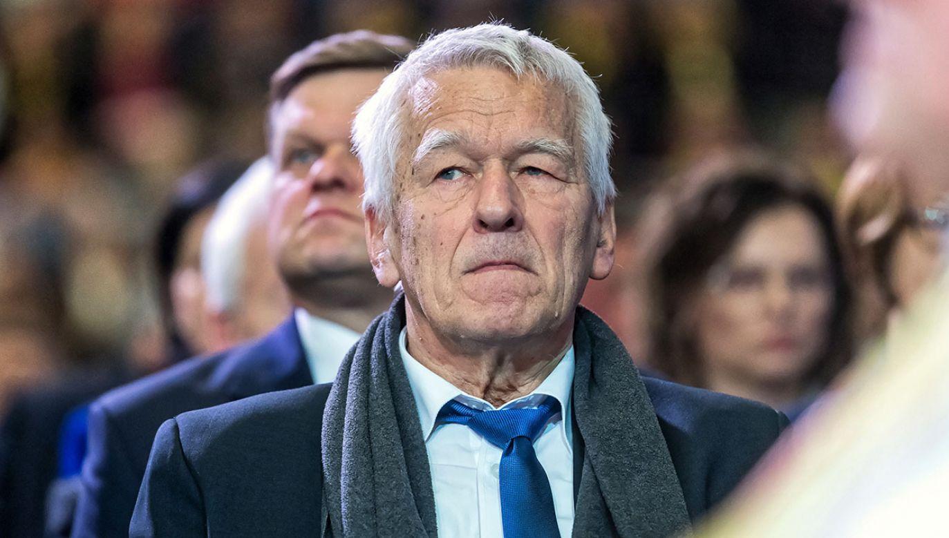 """""""Wierzę, że wszystko będzie dobrze, trzymajcie kciuki"""", mówi ojciec premiera (fot. arch.PAP/Tytus Żmijewski)"""