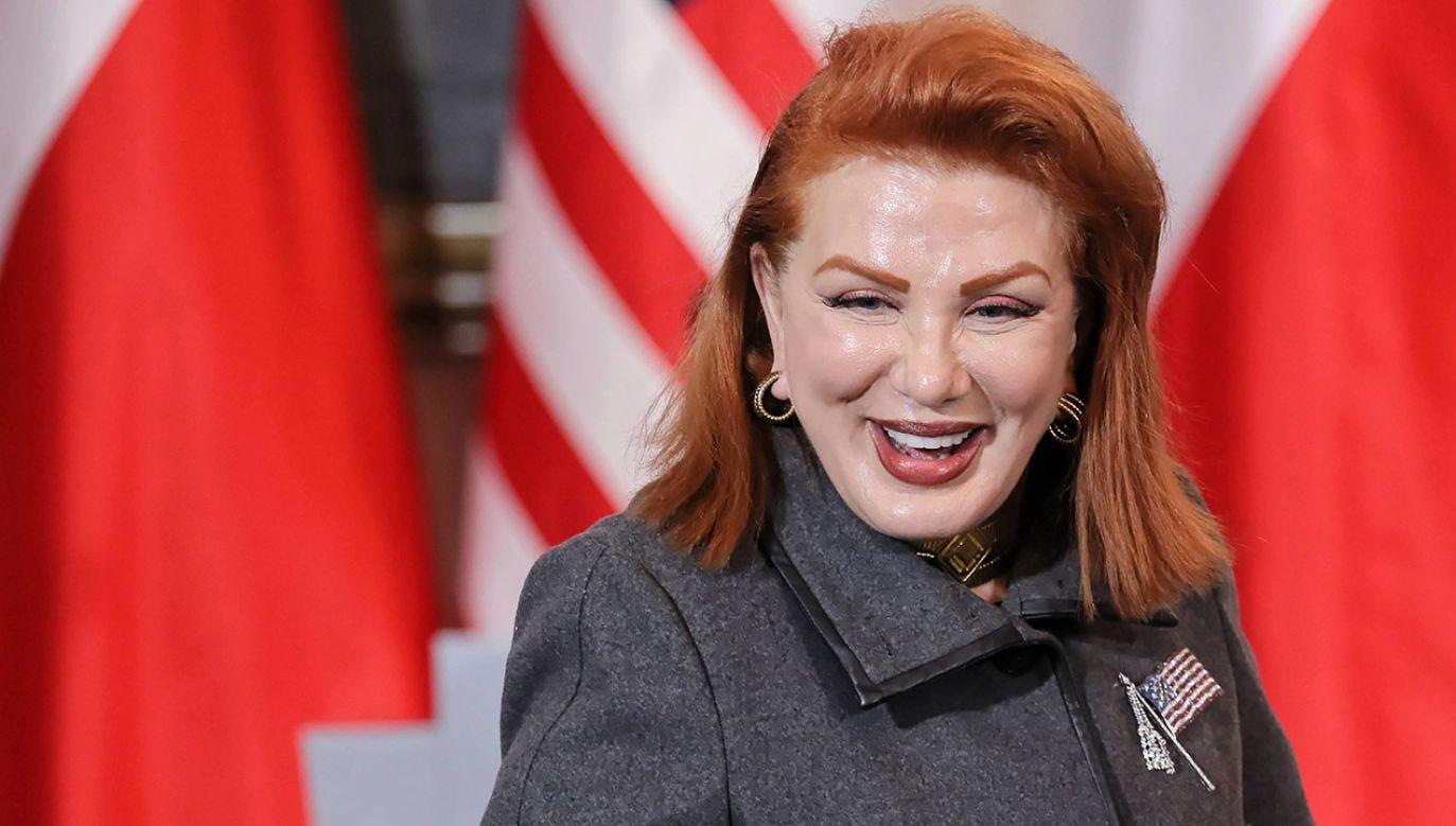 Ambasador USA powiedziała, że zamierza doprowadzić do ruchu bezwizowego przed końcem swojej kadencji (fot. arch.PAP/Paweł Supernak)