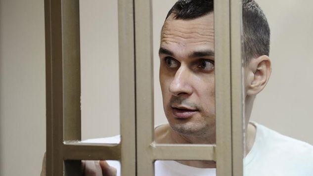 Ołeh Sencow (fot. REUTERS/Sergey Pivovarov)